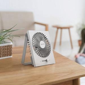 """Image 5 - Складной USB вентилятор Youpin Smartfrog с зарядкой, 4 """"портативный мини вентилятор, бесшумный сильный ветер для летнего тепла, для домашнего офиса"""