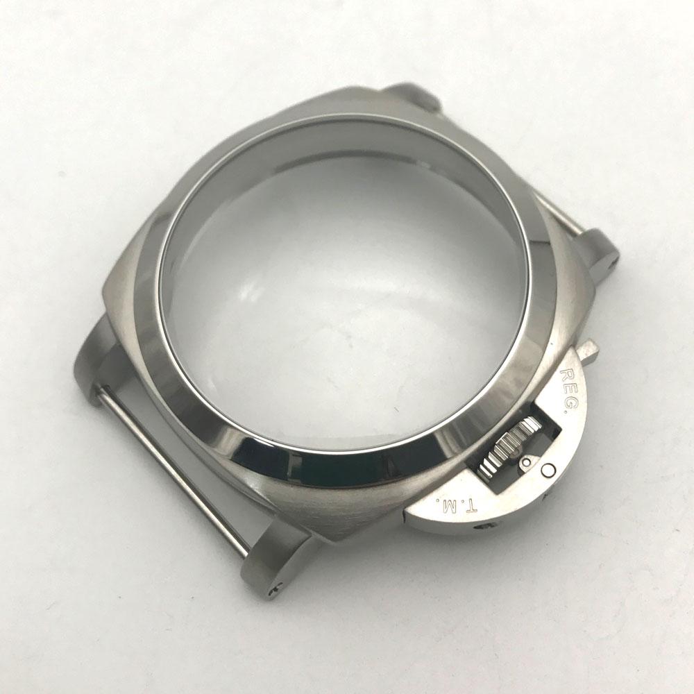 Parnis seagull  eta 6497 6498 movement 47mm PAM 316l stainless steel watch case P47-10Parnis seagull  eta 6497 6498 movement 47mm PAM 316l stainless steel watch case P47-10