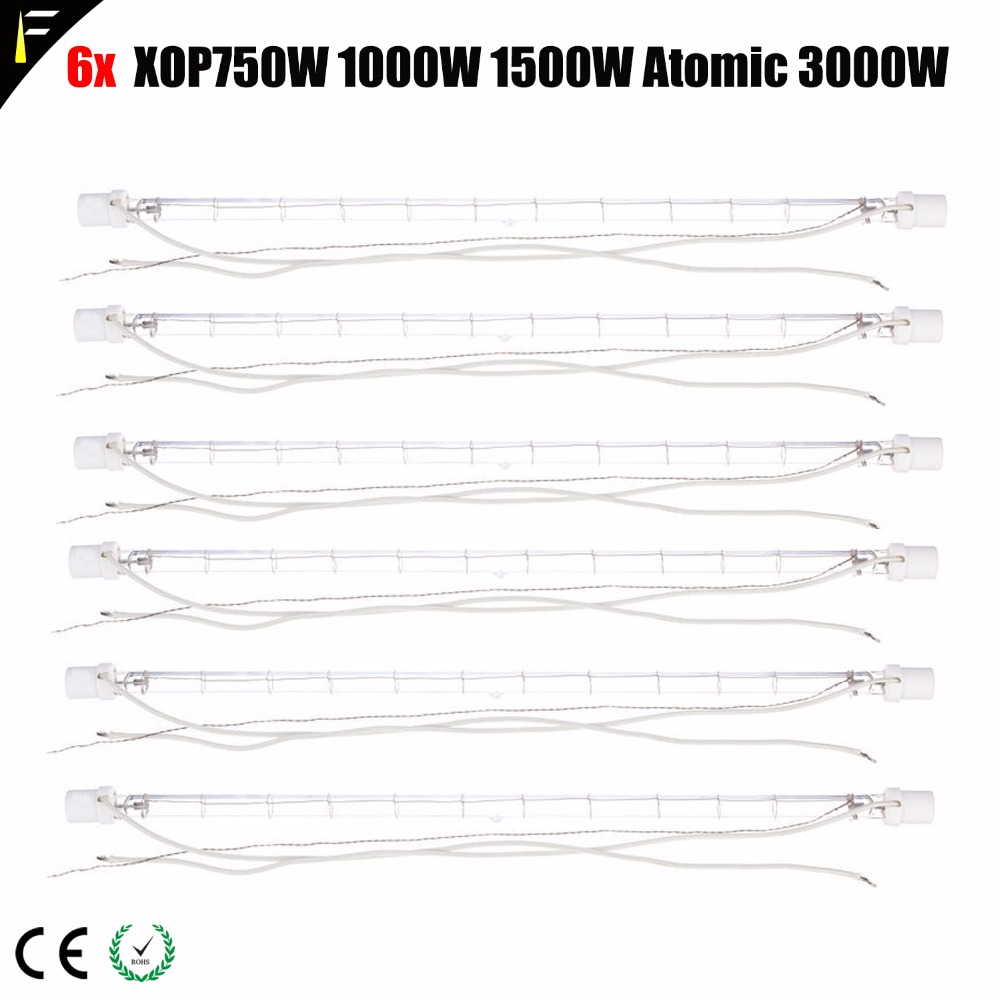 4pcs Stage Light Strobe Tube Lamp XOP 1000w/1500w Automic 3000w 5600k Lights for DJ/Disco
