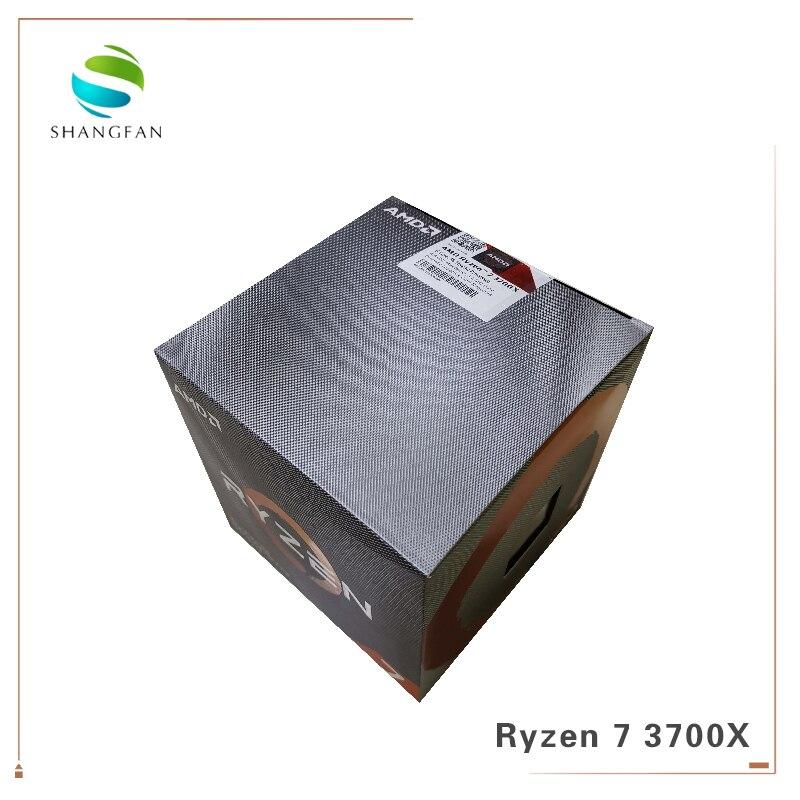AMD Ryzen 7 3700X R7 3700X 3.6 GHz 7NM L3=32M 100-000000071 8-Core 16-Thread CPU Processor Socket AM4 With Cooler Cooling Fan