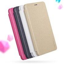 Телефон случае для Meizu M5S m5 с NILLKIN Искра ультра тонкий кожаный чехол откидная крышка мешок мобильного телефона чехол для Meizu M5S чехол