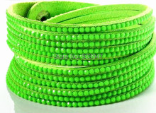 18 Color Bling Bracelet New Fashion 6 Layer Leather Bracelet! Factory Discount Prices, Wrap Bracelet! HY03001