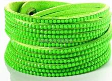 18 Color Bling Bracelet New Fashion 6 Layer Leather Bracelet! Factory Discount Prices, Wrap Bracelet! HY03001