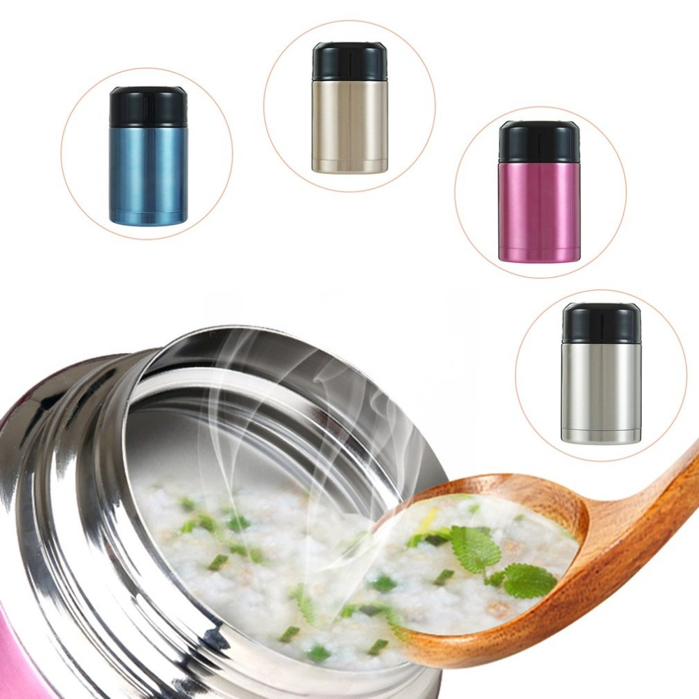 Multifunctional Portable Size Stainless Steel Thermal Flask Vacuum Food Container for Home Office Best Gift