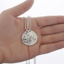 Coin Necklaces Colar Vintage Cheap Costume Horse Jewelry Bijoux Horse Necklace Couple Necklace Best Friend Necklace Pendants