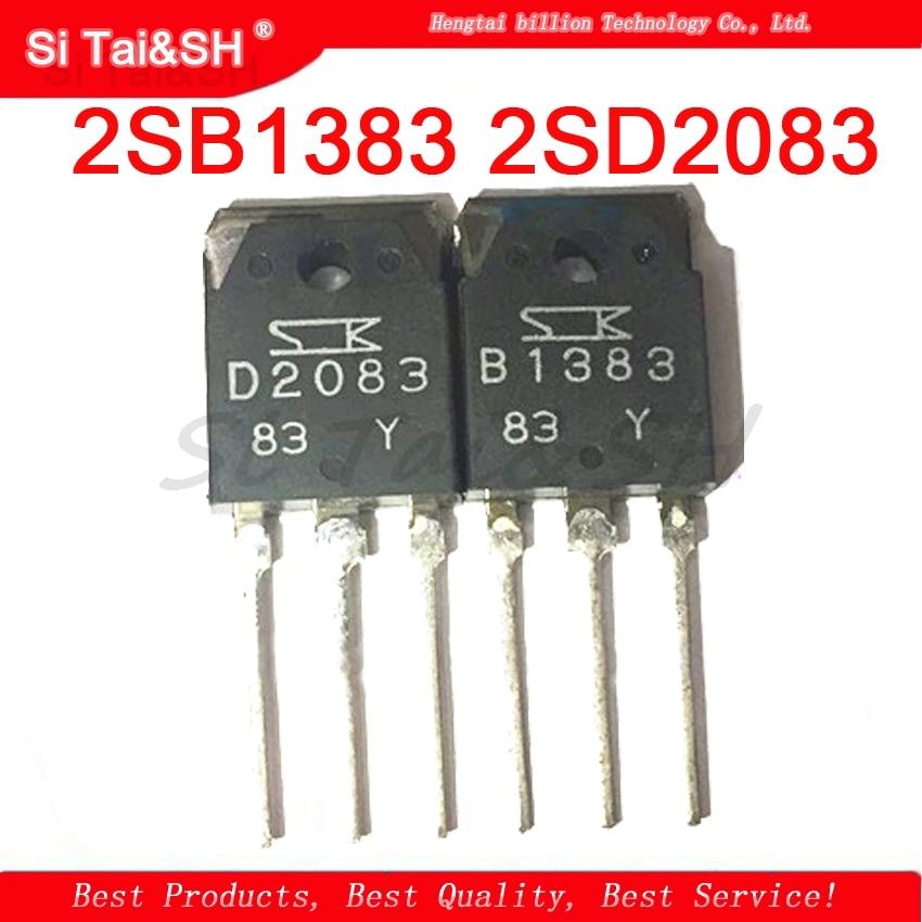 2pcs/lot   1pcs=2SD2083 D2083 1pcs=2SB1383 B1383 TO-3P