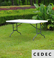 Portable Patio Outdoor Party Picnic Folding  Table 240*85*74Cm/ 94.48X33.4X29.1inch