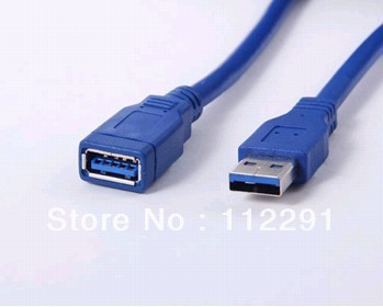 new Super Speed USB 3.0 A Extension Line male to Female,0.5M For Desktop Mouse PC with China postal checking number