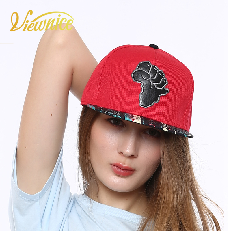 VIEWNICE 2018 New Hit hop Caps Fist 3D Embroidery For Naughty Girl Boy Hats Novelty Base ...