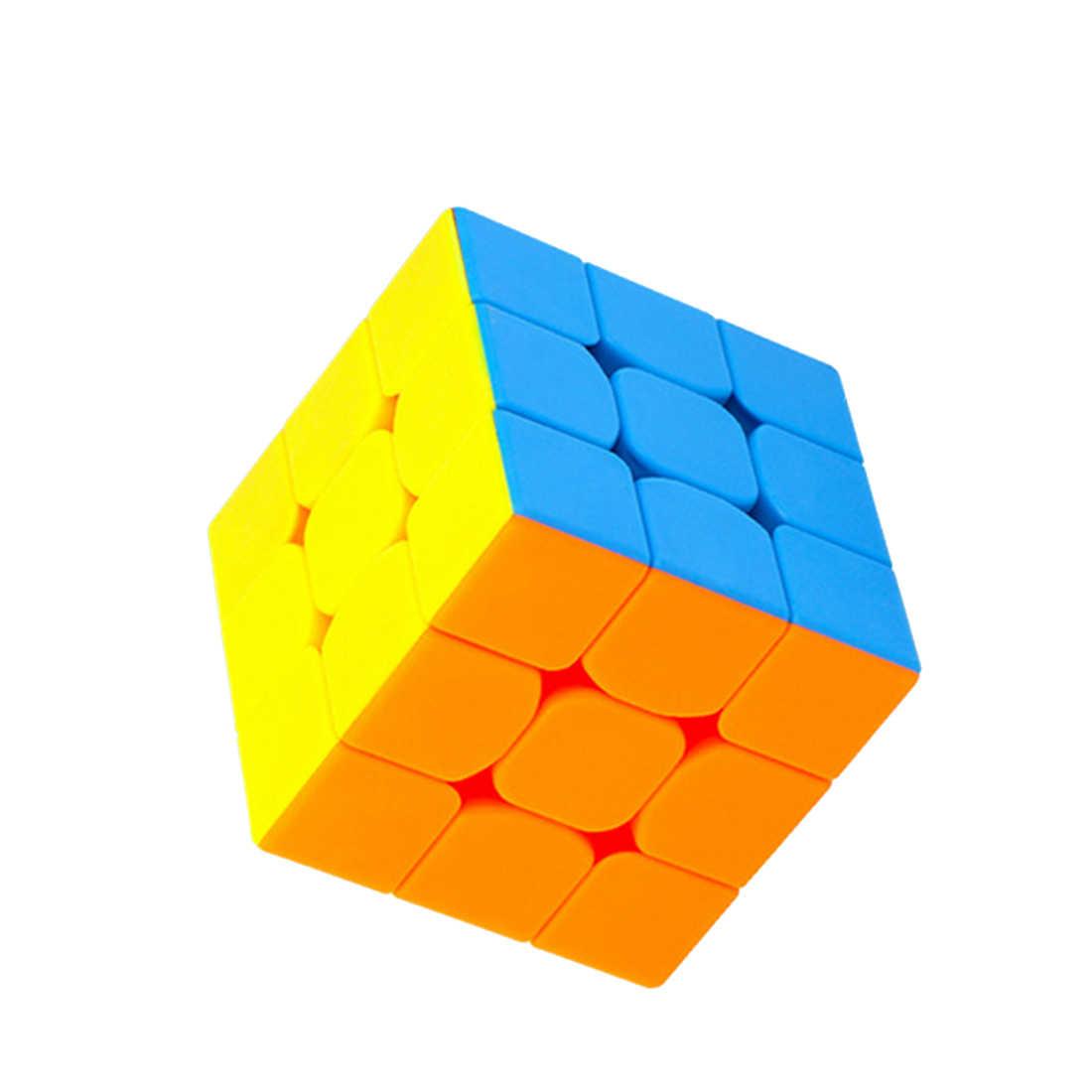 Cubing классная мини 3x3x3 волшебный куб пазл игрушки для соревнований вызов-красочный