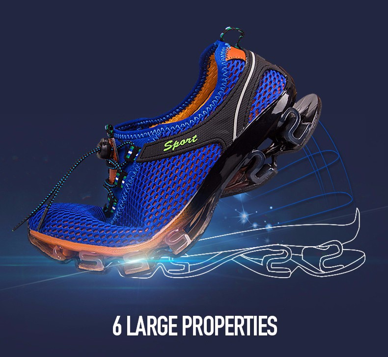 Super Cool breathable running shoes men sneakers bounce summer outdoor sport shoes Professional Training shoes plus size 7