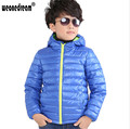 WEONEDREAM 2017 Hot Sale Boys Winter Coat 5 Colors Duck Down Jacket Girls Boys Down Jacket Children Duck Feather Kids Down Coat