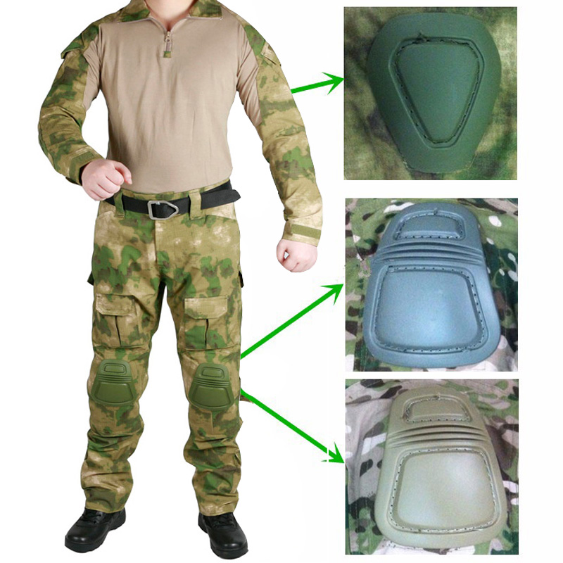 Image 5 - Tactical Military Combat Uniform Multicam Shirt   Pants Elbow 