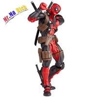 16cm Red Deadpool Action Figures Model Justice League X man Action Figure Toys For Collections