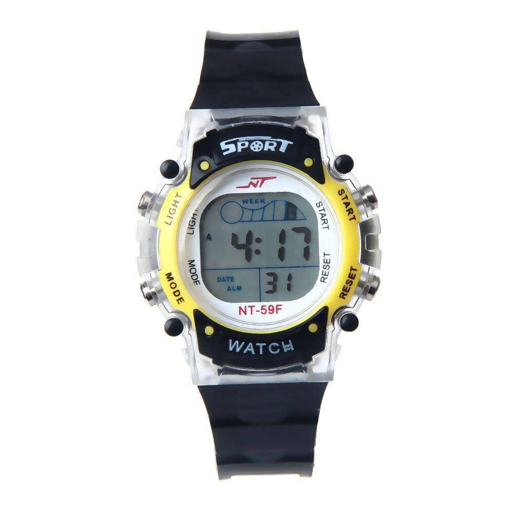 Irisshine Children Watches Clock Brand Luxury Gift Colorful LED Electronic Sports Watch Boy Girls Student Watch Wholesale A26