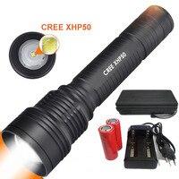 New LED Diving Flashlight 8000 Lumens 4 X CREE XM L2 Underwater 150M Waterproof Tactical Flashlight