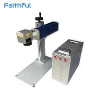 20W Laser Graver Metal Machine with Raycus Source