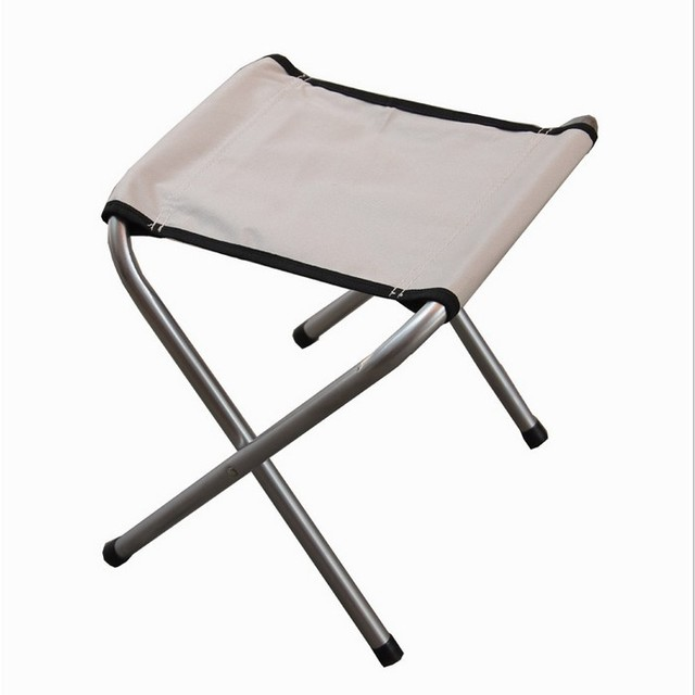 Nice Outdoor Folding Chairs Portable Fishing Chairs Outdoor Leisure Picnic  Folding Camp Chair Train A Small Stool