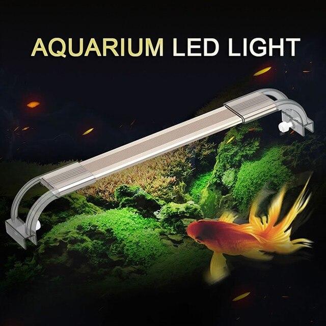 ADP аквариум светодио дный светодиодное освещение для аквариума Chihiros 7500 К ультра тонкий алюминиевый легкий сплав для аквариума освещение ла...
