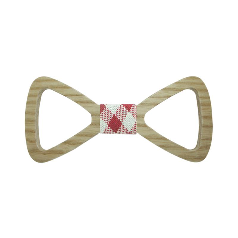Cute Kids Boys Wood Bow Tie Child Butterfly Hollow Out Bow Ties Wooden Bow Ties S72