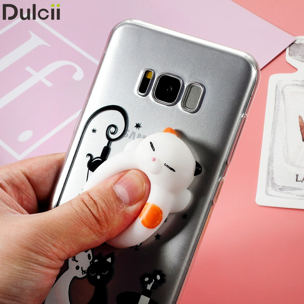Samsung S Black Cat D Phone Case