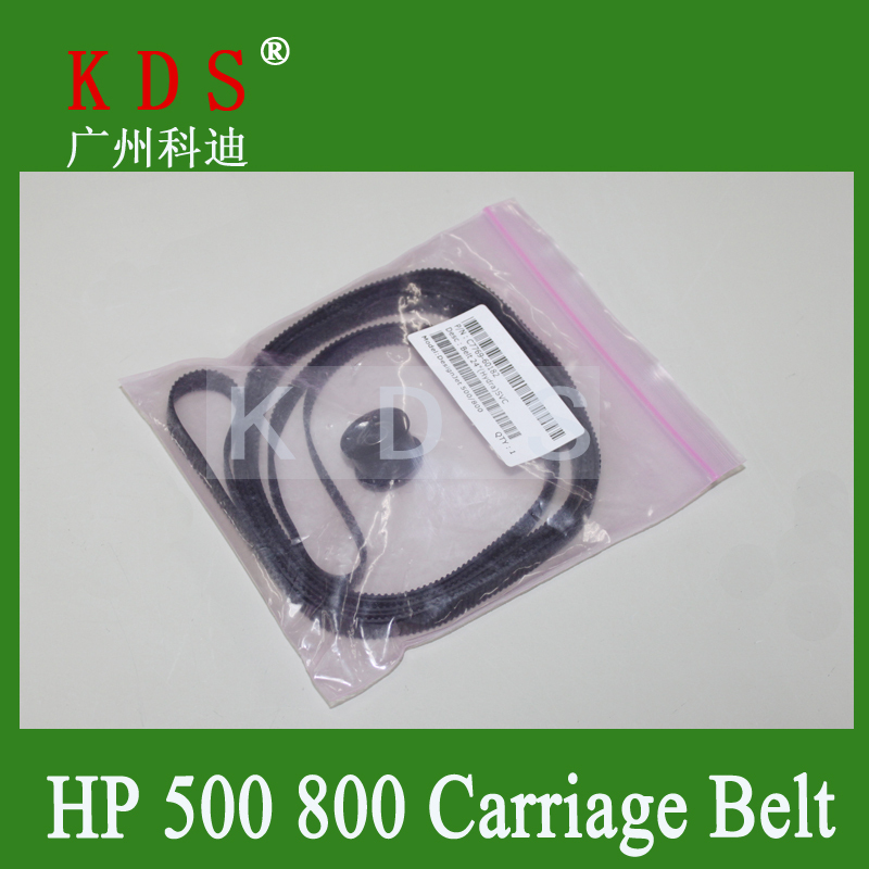 """C7769-60182 DesignJet 500 800 24 inch""""inch Carriage Belt Compatible and New in Black"""""""