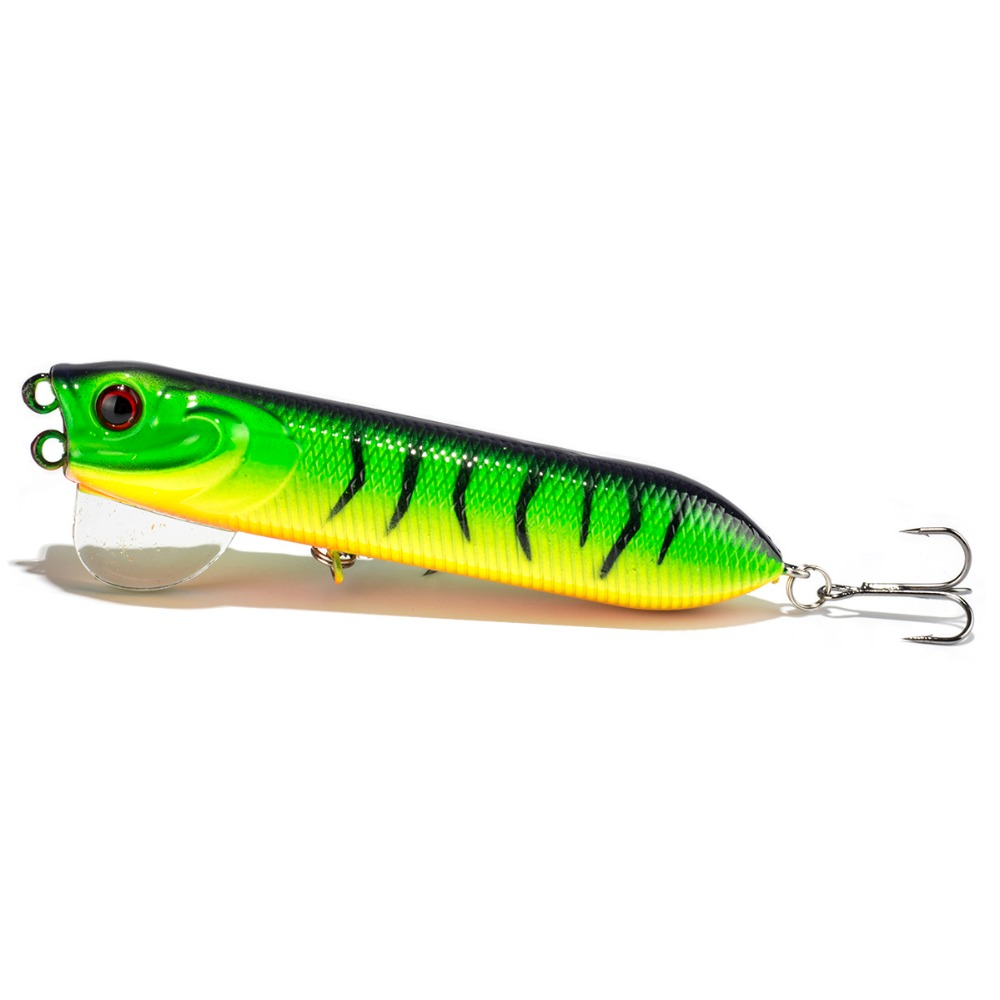 Sealurer topwater fishing pencil pencil lure 10cm for Snake fishing lure