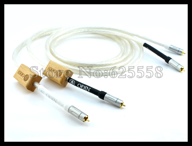 Hi-End Hifi audio Odin RCA Audio cable with gold plated  FP-160(G) RCA plug cable 1pcs odin interconnect usb cable with a to b plated gold connection usb audio digital cable