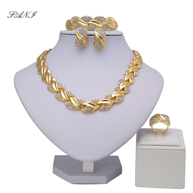 Nigerian Wedding Gifts: Fani Bridal Gift Nigerian Wedding Brand Jewelry Set