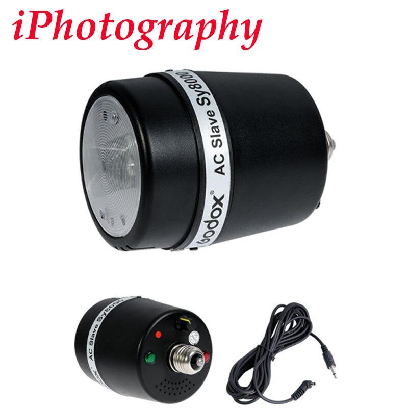 GODOX AC Flash Esclave Lampe Sy8000 pour Studio Photo Lumière 72WS 110 v ou 220 v tension avant de commander pls confirmer