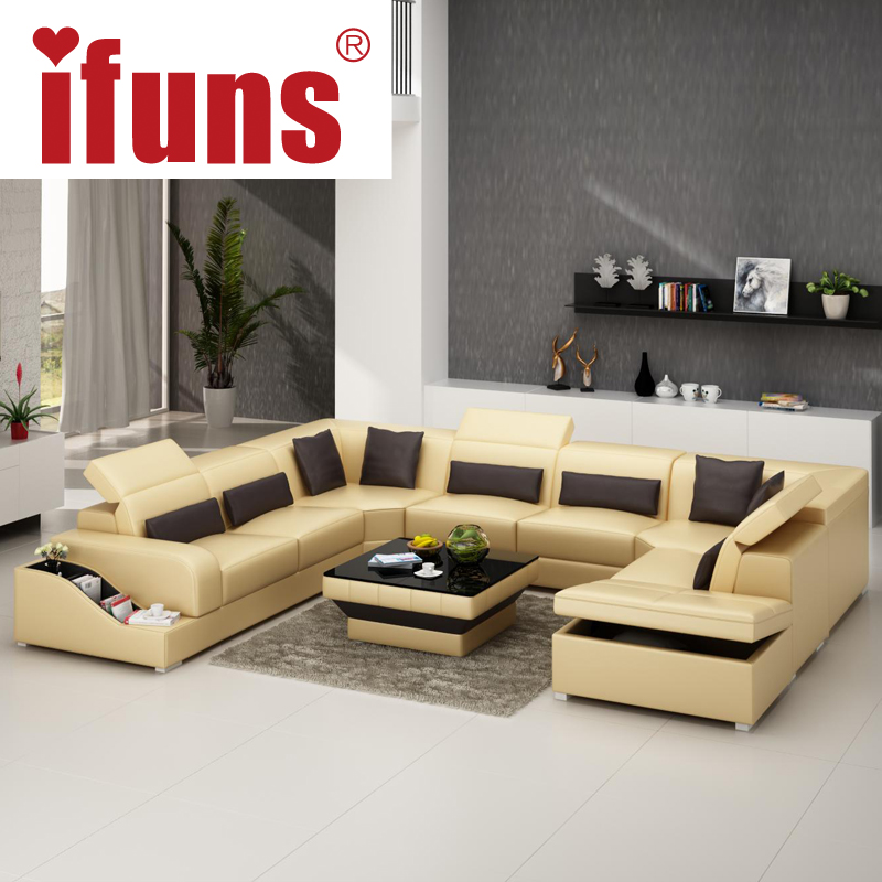Modern & Contemporary Leather Corner Sofas L Shaped Corner Sofa Beds ...
