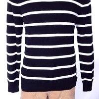 POLO RALPH LAUREN Мужская ST. BARTH свитер черный белый SZ XL СЗТ $225