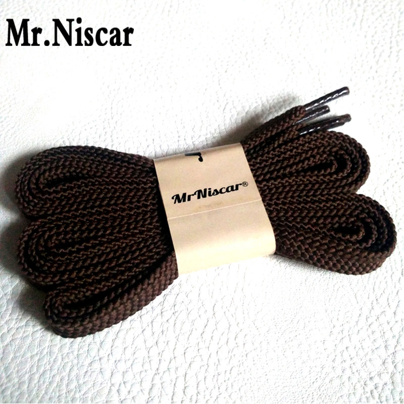 Mr.Niscar 5 Pair 100cm 120cm 140cm 160cm 180cm Polyester Shoelaces Flat Shoelace Sport Shoes Sneaker Coffee Shoe Laces Strings