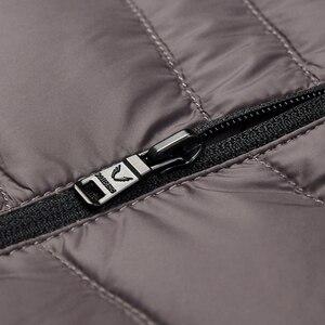 Image 4 - Мужская куртка пуховик BOSIDENG, 90% утиного пуха, высокое качество, водонепроницаемая, с капюшоном, с капюшоном, с карманами, термос, B80131009