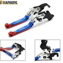 CRF1000L Motorcycle CNC Folding Extendable brake clutch Levers For Honda AFRICA TWIN 2015 2016 2017