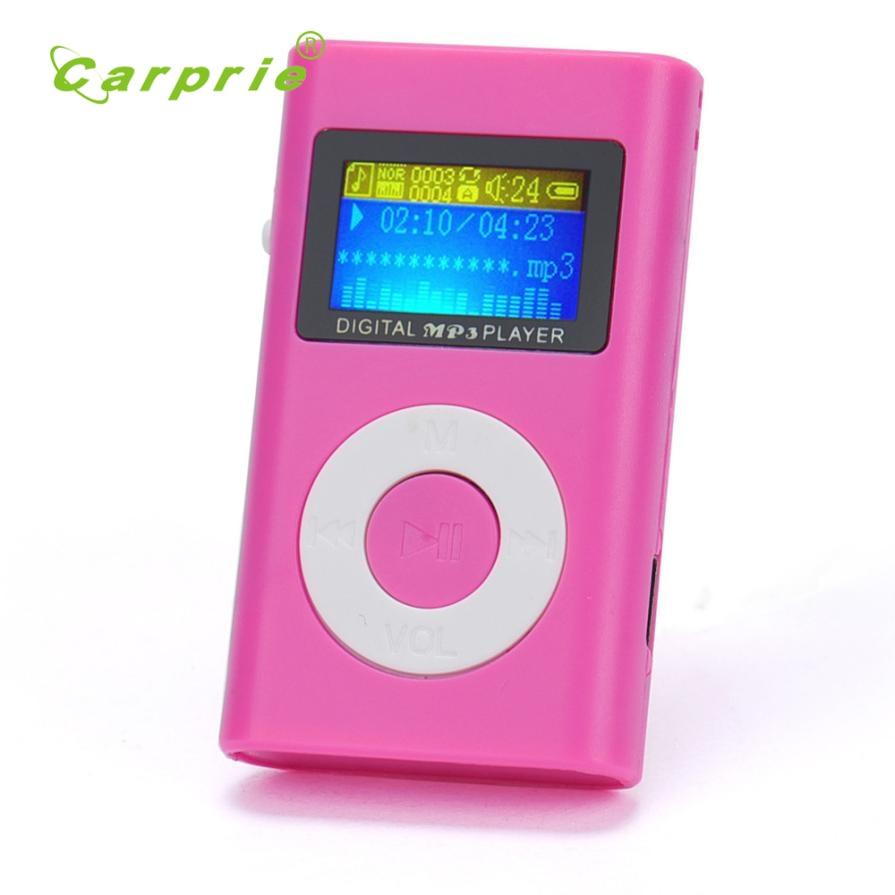 Mp3-player Sonnig Carprie Neue Usb Mini Mp3-player Lcd-bildschirm Unterstützung 32 Gb Micro Sd Tf Karte Jeu De Musique 17jun12 Dropshipping Clear-Cut-Textur