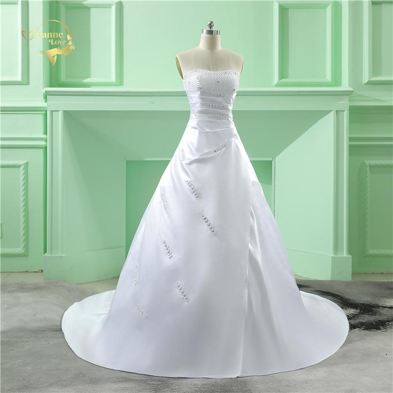Partihandel Vestido De Noiva 2019 Klassisk Design Perfekt Casamento - Bröllopsklänningar - Foto 4