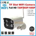 2.0MP Full HD TF слот для Карты Беспроводной Ip-камера 720 P/960 P/1080 P Открытый motion detect Onvif Wi-Fi функция Plug & play CCTV Камеры