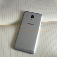 Original New for Meizu M3 Note Rear Back Cover Battery Door Housing with Camera Lens Flash Replacement for Meilan Note 3