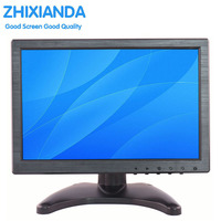10 Inch IPS EDP 1280 800 Touch Screen Portable HD HDMI Monitor With VGA BNC AV