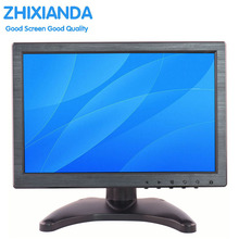 10 Inch IPS EDP 1280*800 Touch Screen Portable HD HDMI Monitor with VGA BNC AV USB Input for FPV Video Display TV CCTV