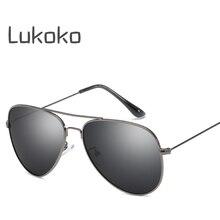 1974cf0f5d1 Lukoko UV400 Unisex Sun Glasses Aviador Male Ladies Gozluk Pilot Polarized