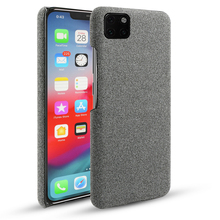 For iPhone 11 11 Pro 11 Pro Max Case Fabric Woven Cloth Slim Hard PC Back Cover for iPhone X XS Max XR 5 5S SE Case Shockproof цена