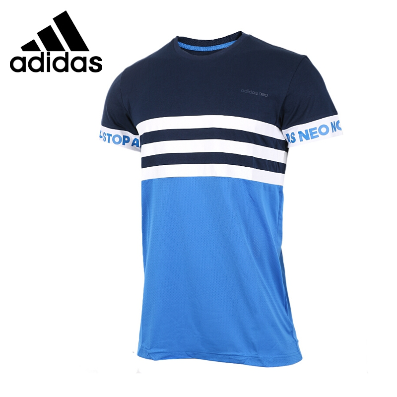 Original New Arrival 2017 Adidas NEO Label M SLOGAN SLV T Men's T-shirts short sleeve Sportswear original new arrival 2017 adidas neo label m sw tee men s t shirts short sleeve sportswear