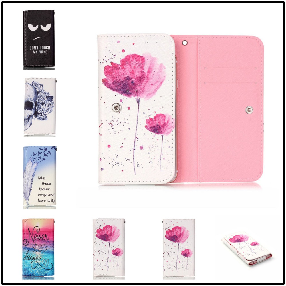 For Caterpillar CAT S60 Case 2016 Hot Sale Free Shipping PU Protect Phone Cases With 12 Painting And Card Wallet