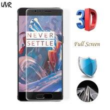 Super Clear Anti-fingerprint Мягкий ТПУ защитный Плёнки Экран протектор для One Plus oneplus 3 т 3 oneplus3 (5.5 «) плёнки для A3000