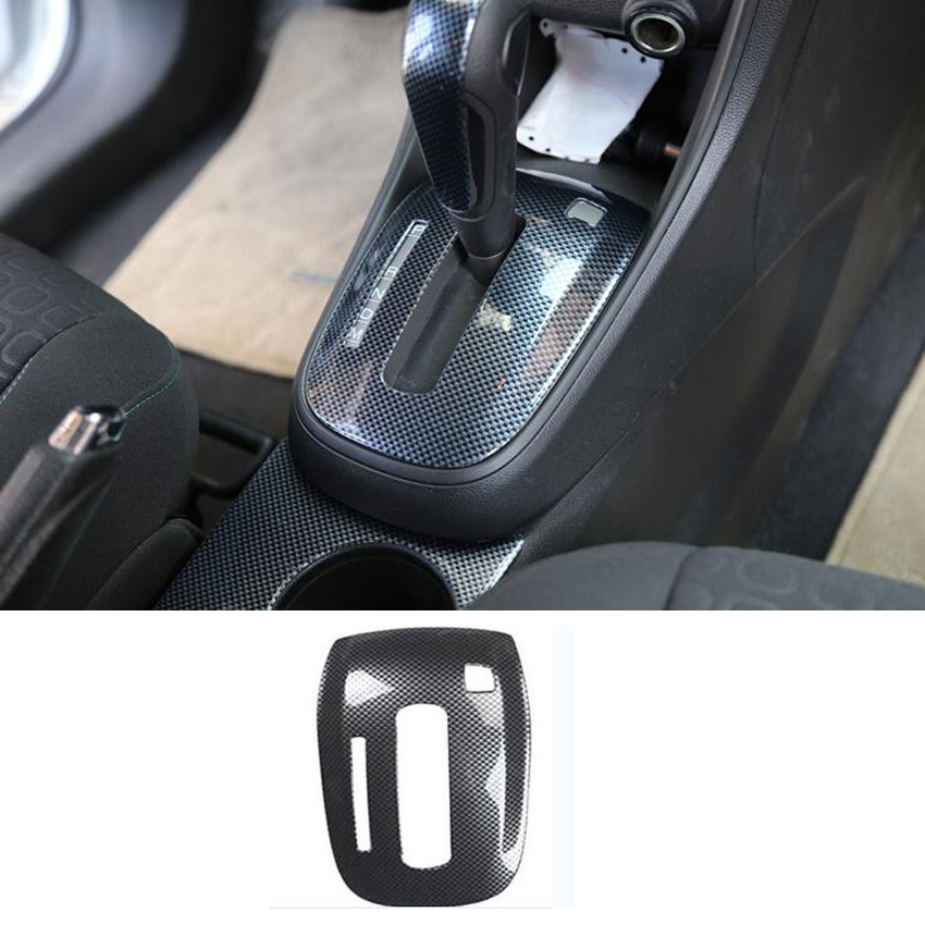 Car Gear Shift Box Cover Trim Sticker For Chevrolet Trax 2014 2015 2016 2017 Car-styling ABS Car Accessories