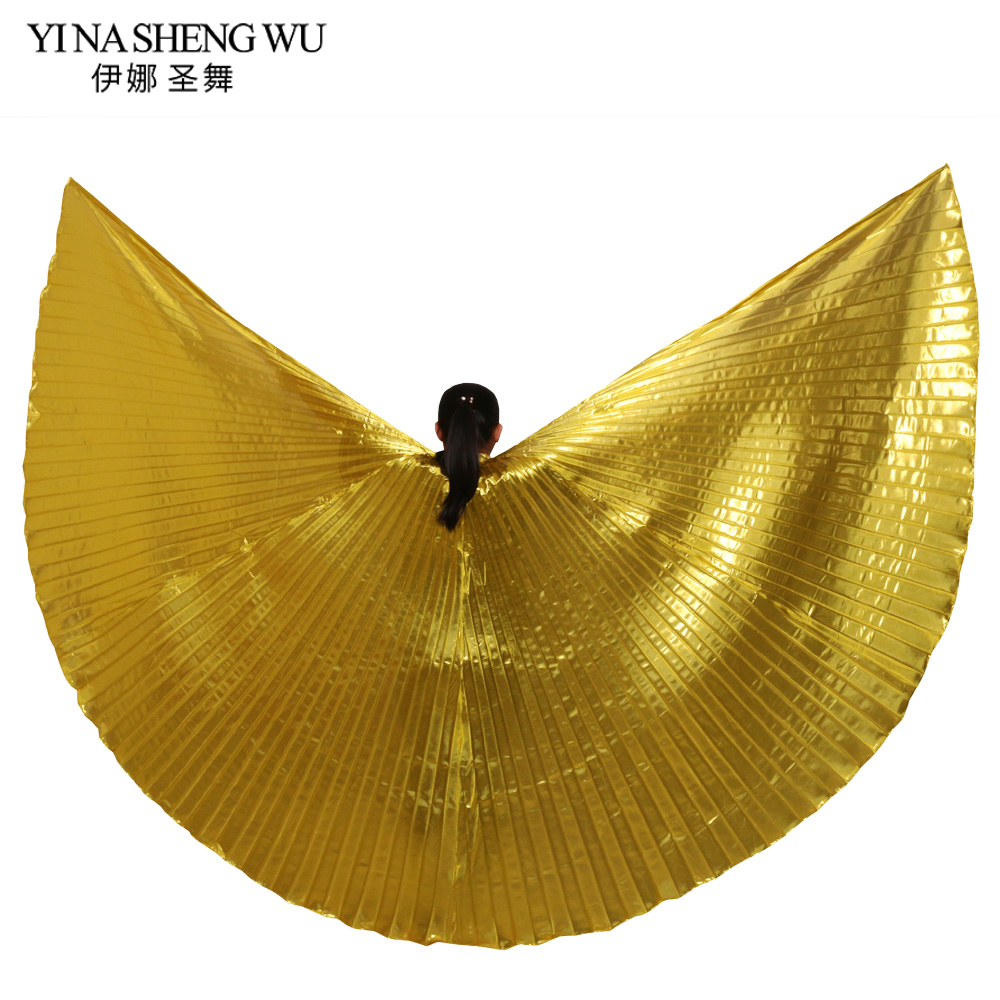 1pc Women Belly Dance Isis Wings Oriental Dance Accessories Egypt India Dance Isis Wings Performance Practice Wing Without Stick