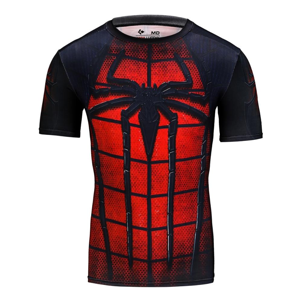 2017 erkek ünlü marka hızlı kuru t shirt spor erkekler - Erkek Giyim - Fotoğraf 1