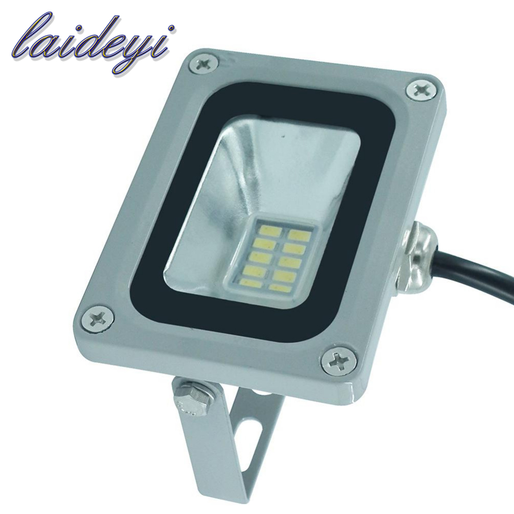 Waterproof 220V 10W Flood Light Led Floodlight Outdoor Lighting Landscape Projector Lamp Warm Cold White focos led 220v exterior купить